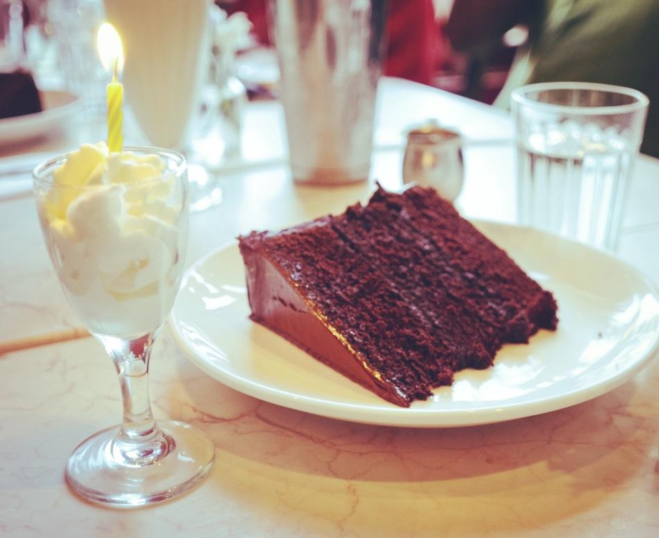 The Chocolate Room via olocomesolodejas.com