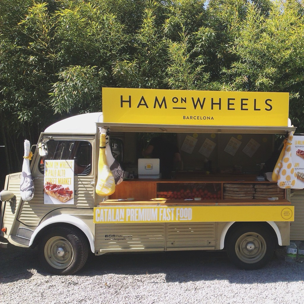 Ham on Wheel