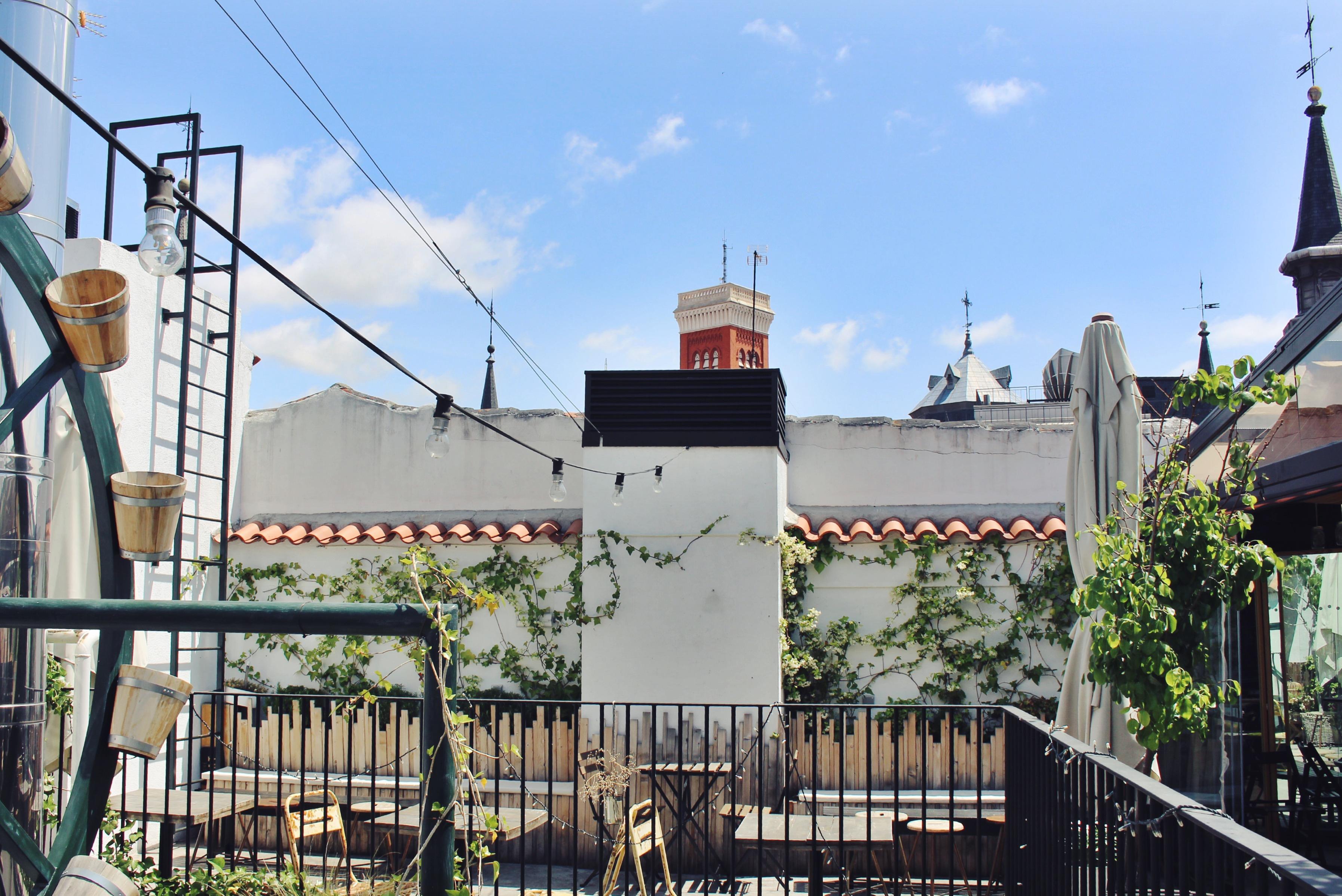 Las 5 mejores terrazas de Madrid