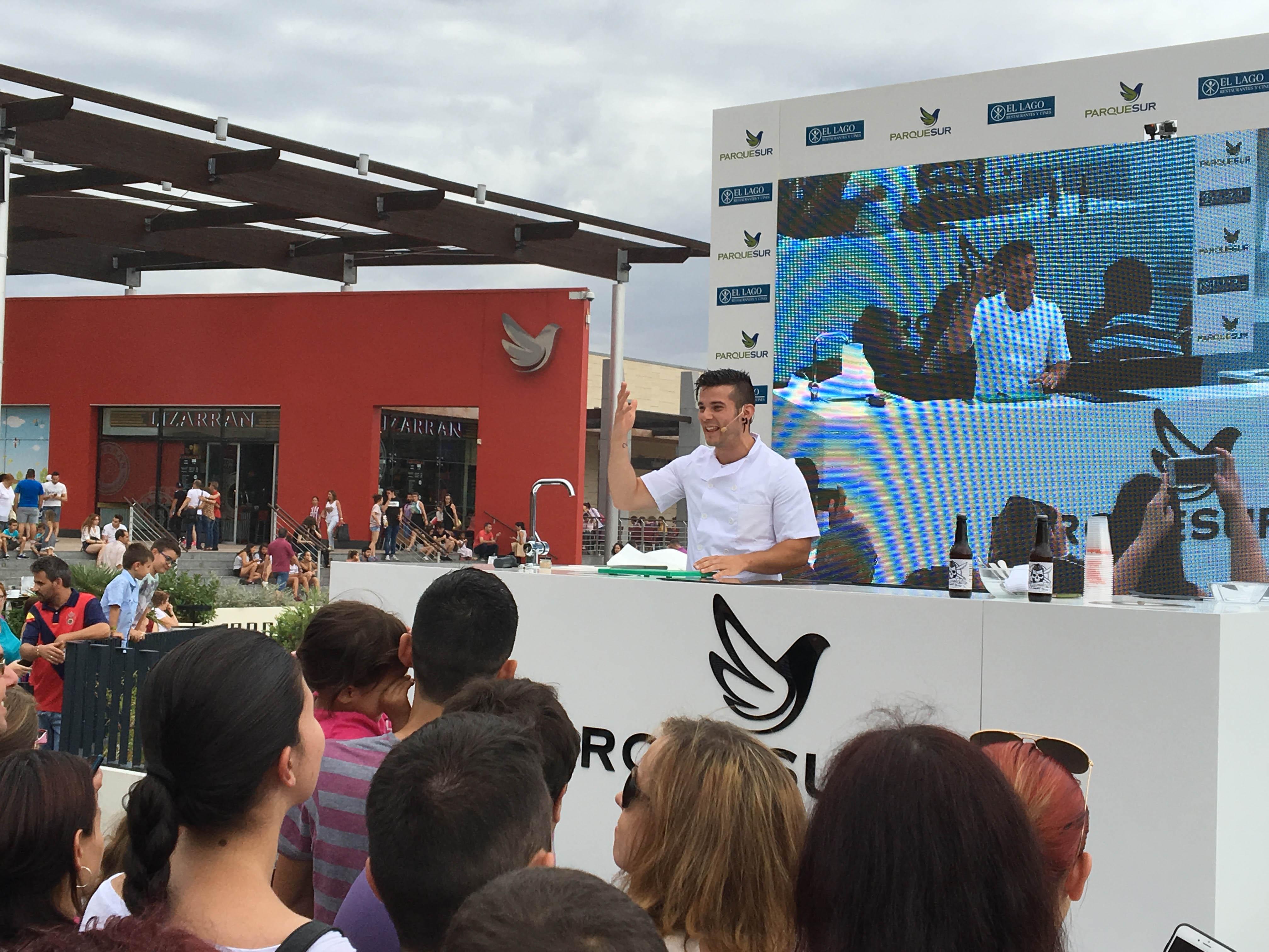 Carlos Maldonado Showcooking Parquesur 2